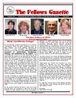 Gazette 2015 Fall