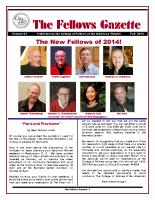 Gazette 2013 Fall