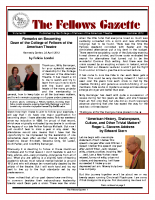 Gazette 2012 Summer