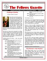 Gazette 2014 Summer