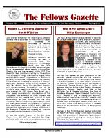Gazette 2010 Spring