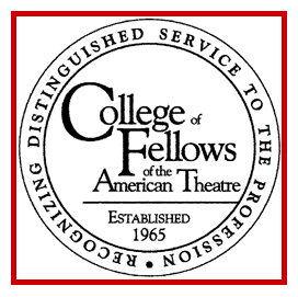 The College of Fellows of the American Theatre Logo